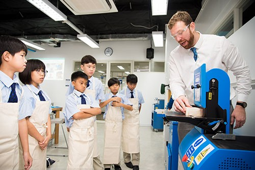 Design-Technology students at Harrow Bangkok