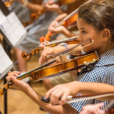 Specialist music lessons for juniors at Harrow Bangkok