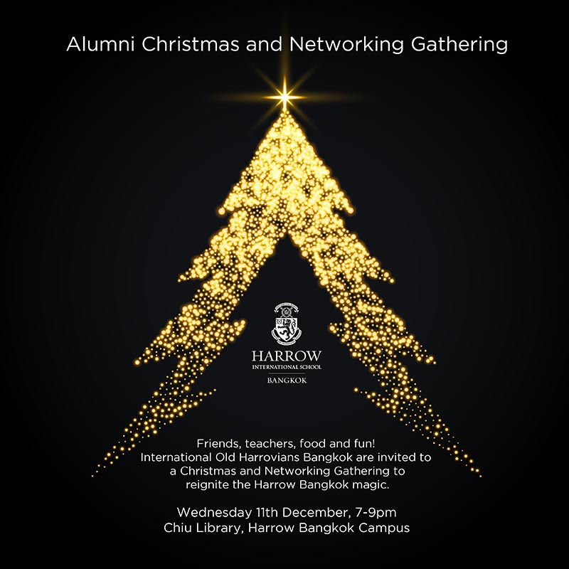 Harrow Bangkok Christmas and Networking Gathering