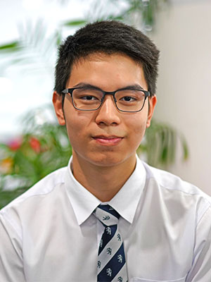 Top IGSCE student at Harrow Bangkok